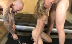 Blonde Slim Dirtbag Skye Avery Face Smashed On Da Floor