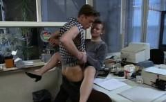 Customer Takes Revenge On Big Tits Travel Age