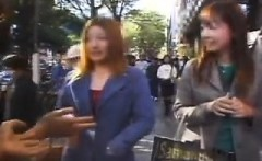 Busty Asian babe gets picked up on the street and gets her