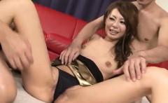 Mio Hiragi adorable Asian porn in steamy modes