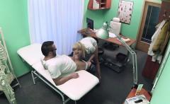 FakeHospital Handy man gets to fuck nurse