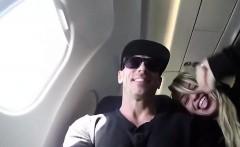 Flight blowjob that is traveler