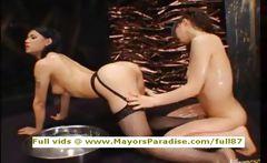 Maria and Yuka Osawa innocent Chinese girls licking and