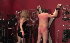 Wifeswapping femdom whips subs cock