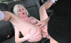 sexy amateur blonde passenger chooses anal sex over gym