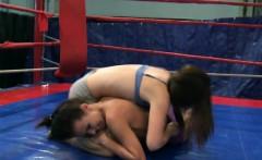European Beauty Fingered After Wrestling