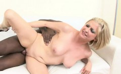 lya knows that this black stud loves her blond milfs pussy