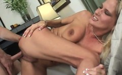 Stacked blonde milf with a fabulous ass gets nailed by a younger guy