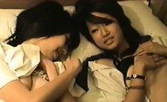 Threesum With Two Hot Teenagers that are Japanese