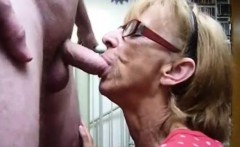 Granny wants to hit