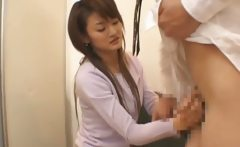 Asian cutie getting a cunt check