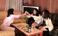 Luscious and lonely Oriental housewives drive each other to