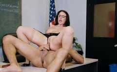 Teacher Angela White Gets Serviced By Students Hung Dad