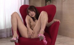 megumi shino sexy couch play with her man on live cam