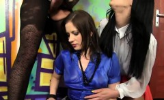 speechless peach in lingerie is geeting urinated on and poke
