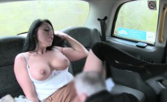 Big juggs woman anal fucked in the cab to off her fare
