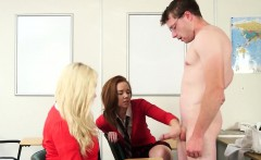 teacher jerked off by students