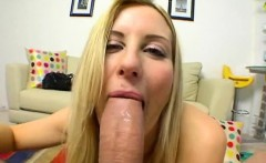 Charming beauty is shovelling hard sex toy into her cunt