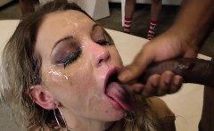 Jizz Mouth Slut Suck Bbc