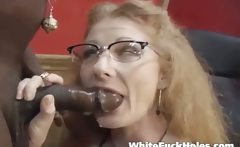 I didnt take long before he shoved his hard black cock up