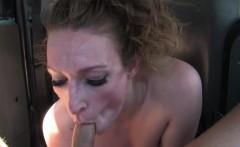 dude rims sexy tattooed female cab driver