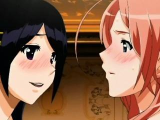 Pregnant lesbian sex in anime porn