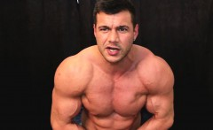 Are you able to handle utter filthy muscle domination THIS H
