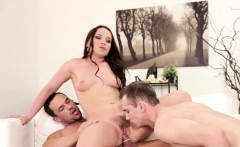 stud anally fucked while eating wet pussy