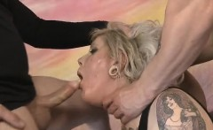 Blonde Ada Bomb Spit On And Face Fucked Roughly On Floor