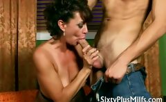 horny housewife fucks delivery boy