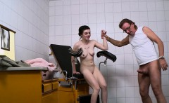 the interracial teen larissa goes only to the women doctor