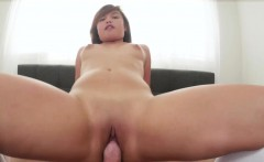Scarlett Scott is a cute Asian girl with a tiny body. This