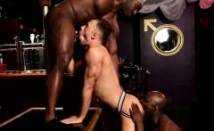 Black stallions spitroasting sweet white ass