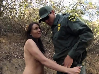 Fake cop brazilian first time Mexican border patrol agent ha