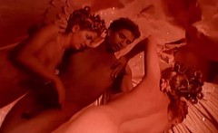 reverse orgy session with three hot darlings