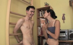 doggystyled euro cuckolds her cheating bf