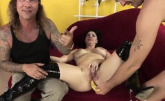 Sexy babes simply love filming porn movies
