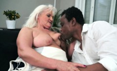 Ir Banged Grandmother Swallows A Load Of Cum