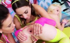Lesbian Hotties Stretch Their Deep Assholes And Plow Oversiz