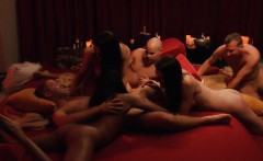 bunch of newly married enjoyed swinging and erotic orgy