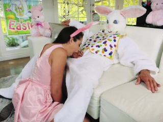 Petite teen vs monster cock anal Uncle Fuck Bunny