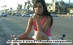 Priscilla fun teenage stunning girl undressing