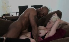 Blonde hottie, Mila Milan, is a rocker chick with spiked...