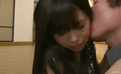 Fingering Chika's pussy makes her soaking wet and hungry