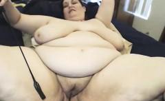 Perfect fat bosoms masturbate on cam