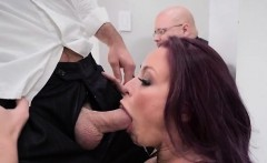 hot wife monique alexander blows husbands hung boss