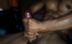 Super Hot Black Solo Masturbation