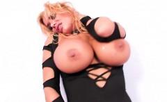 Curvy Porn Legend Shyla Stylez fucks herself with a toy