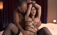 Chubby japanese girl with large tits enjoys hard dong