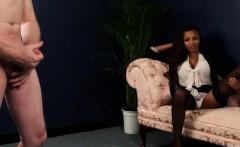 black british voyeur instructing sub to jerk